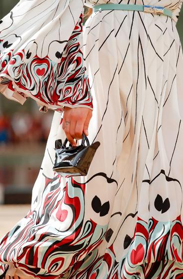 دار لونشان في اسبوع الموضة 2020