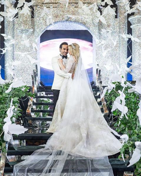 حفل زفاف هنا الزاهد وأحمد فهمي الخيالي