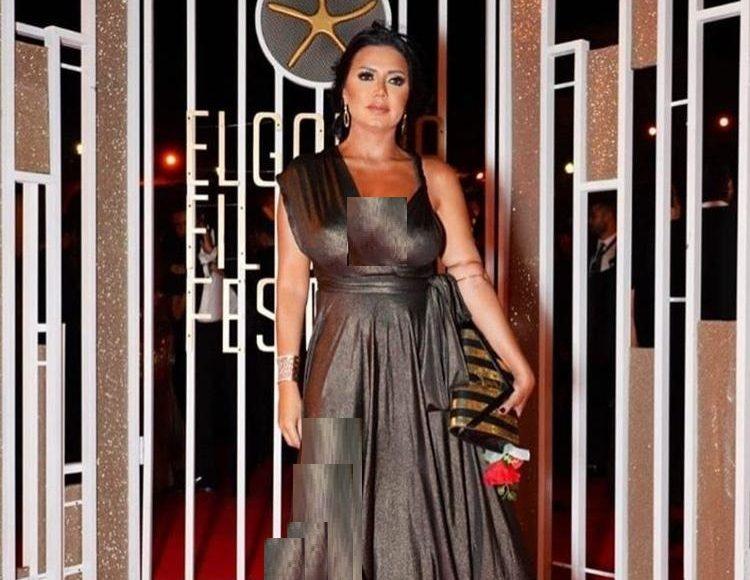 رانيا يوسف بفستان جرئ كالعادة