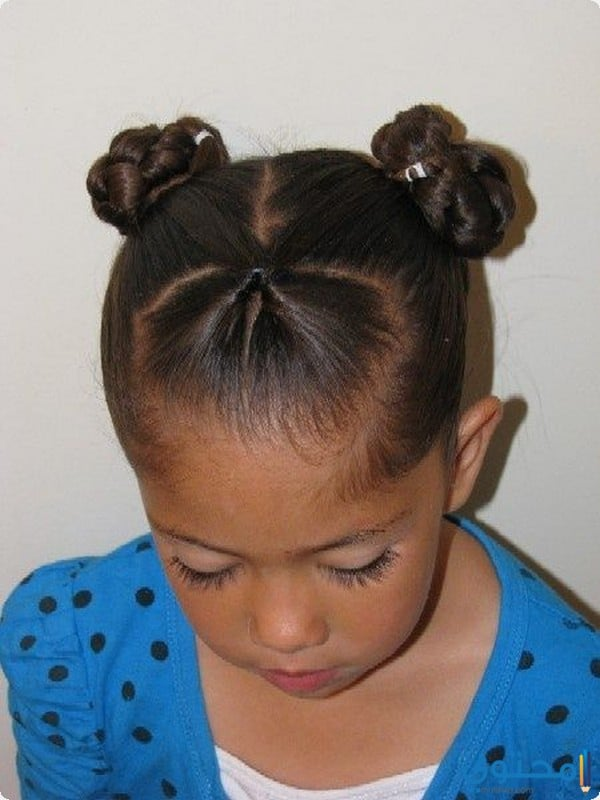 تسريحات شعر للاطفال للمدرسه