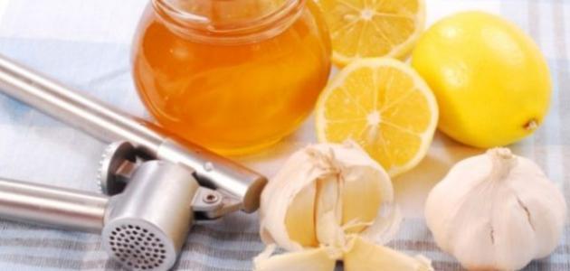 طرق علاج الزكام بالليمون والثوم