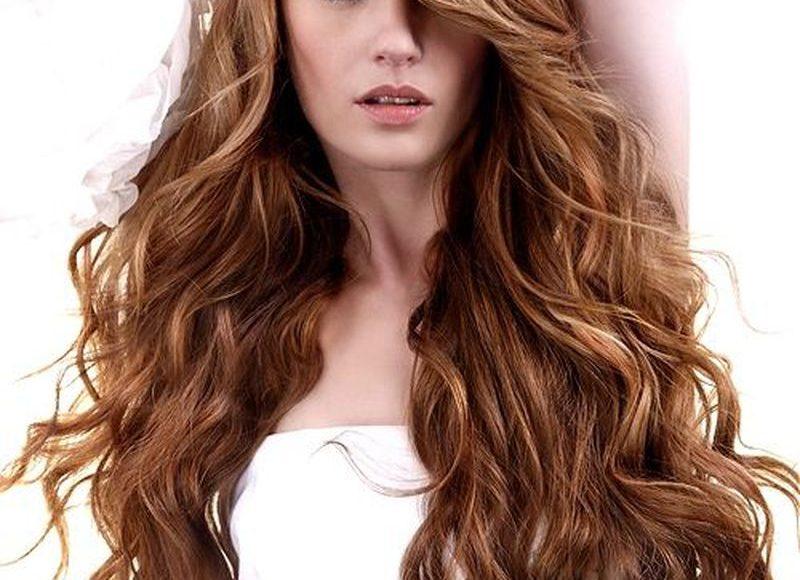 صورة صبغة شعر بلون بني غزالي