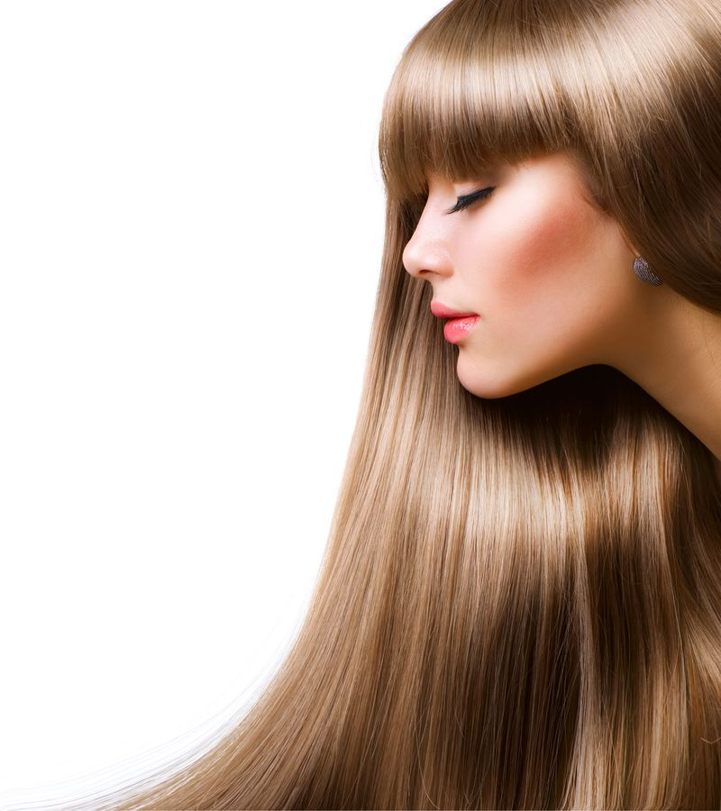 صبغة شعر بلون بني غزالي