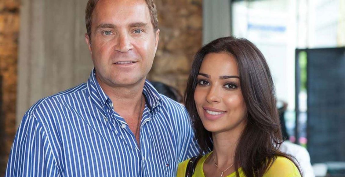 نادين نجيم وزوجها السابق هادي اسمر
