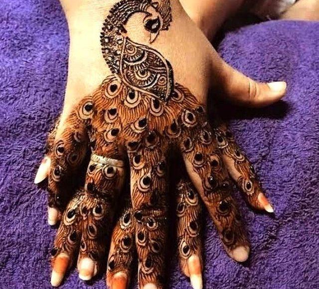 نقوش حناء هنديه للعروس