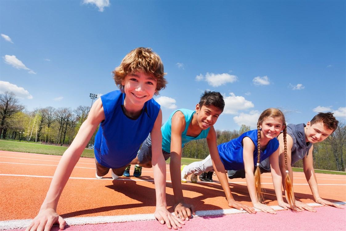 تغذية الأطفال الرياضيين