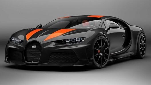 شاهد فيديو بوغاتي شيرون سوبر سبورت أسرع سيارة في العالم
