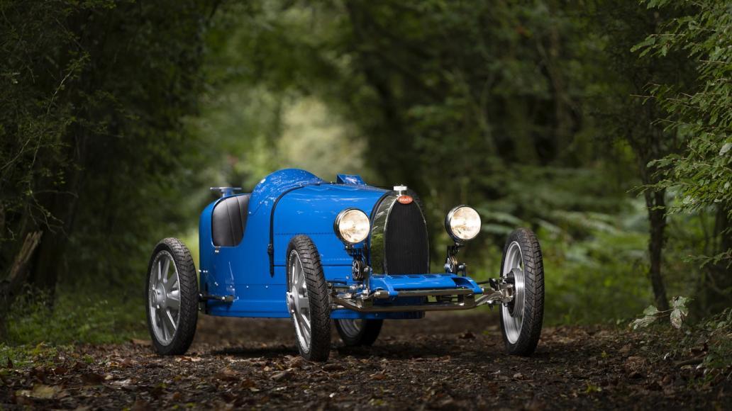الكشف عن سيارة Bugatti Baby الكهربائية