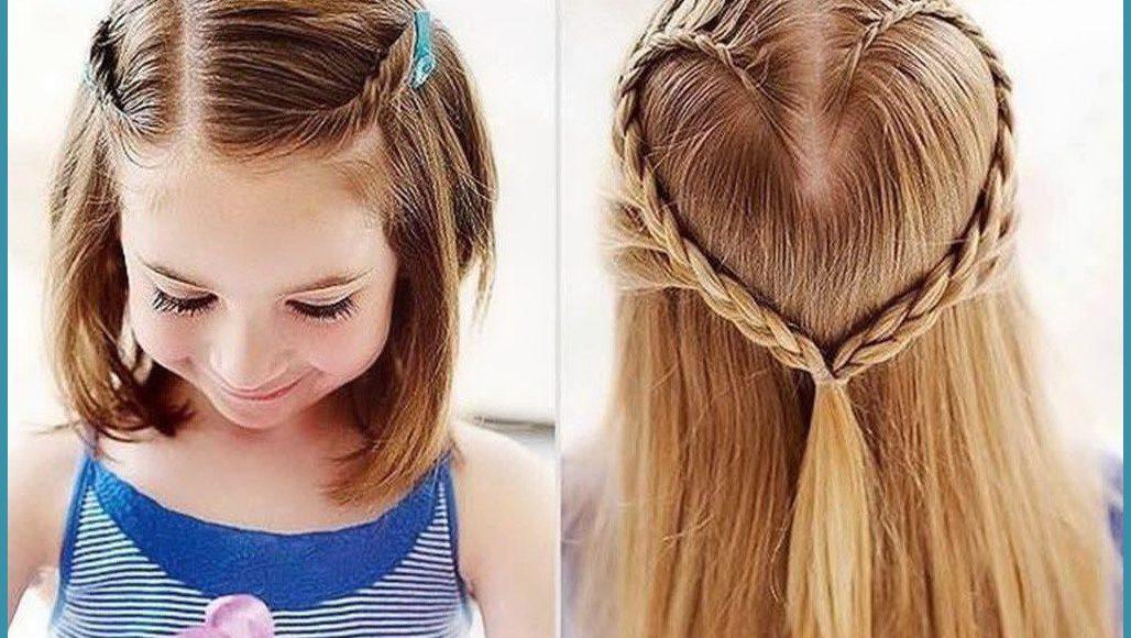 أشكال تسريحات شعر بسيطة للبنات ملائمة للمدرسة