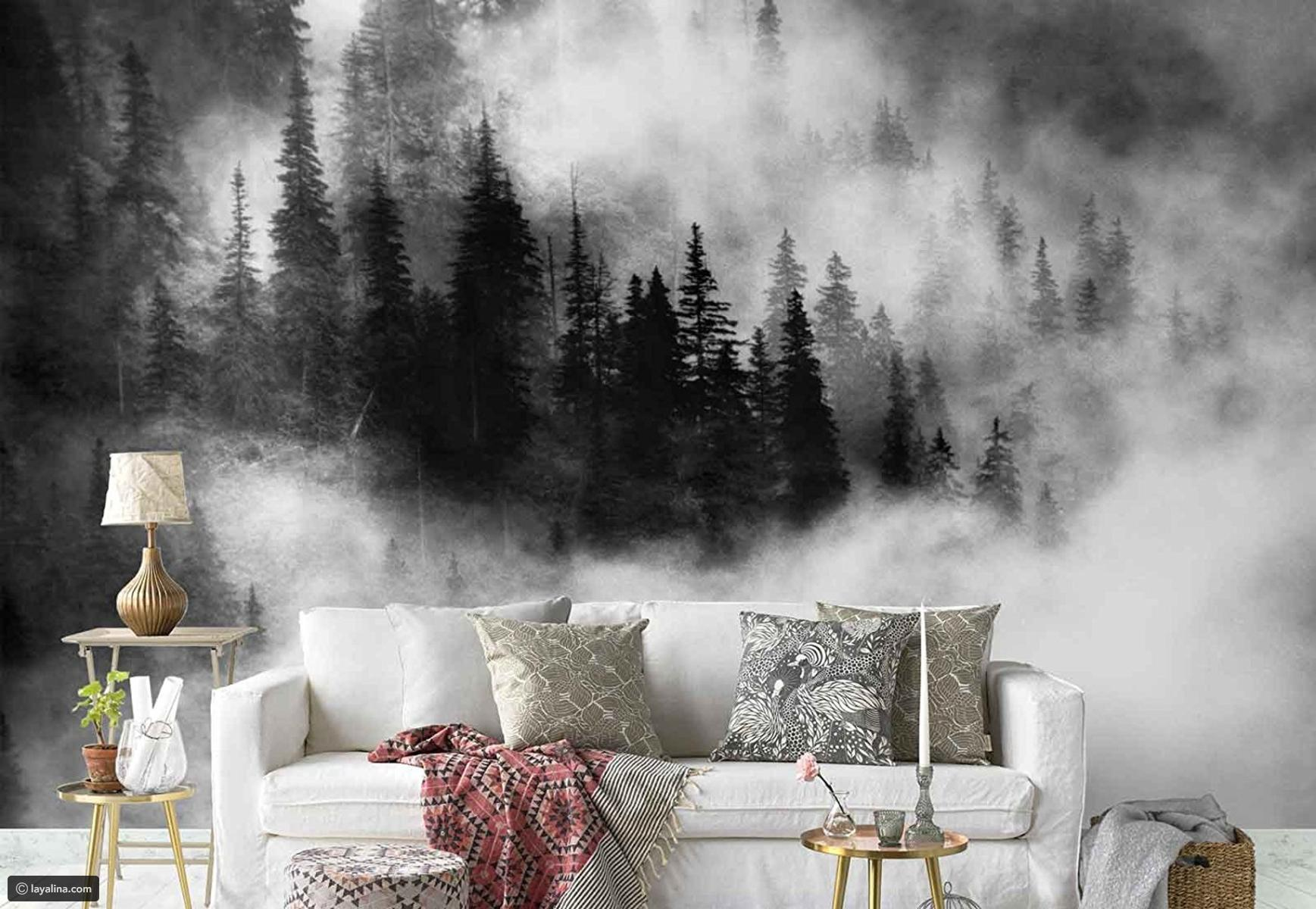 ورق الجدران لأناقة ديكور منزلك