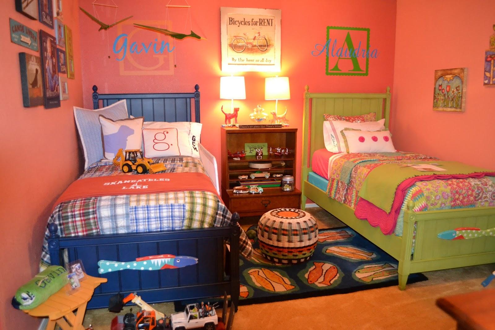 ديكور غرف نوم أطفال مشتركة