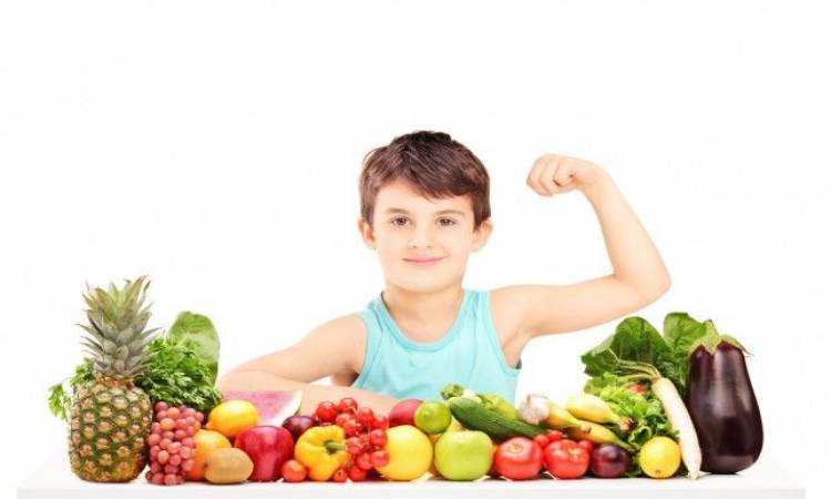 الغذاء الصحي لدى الأطفال