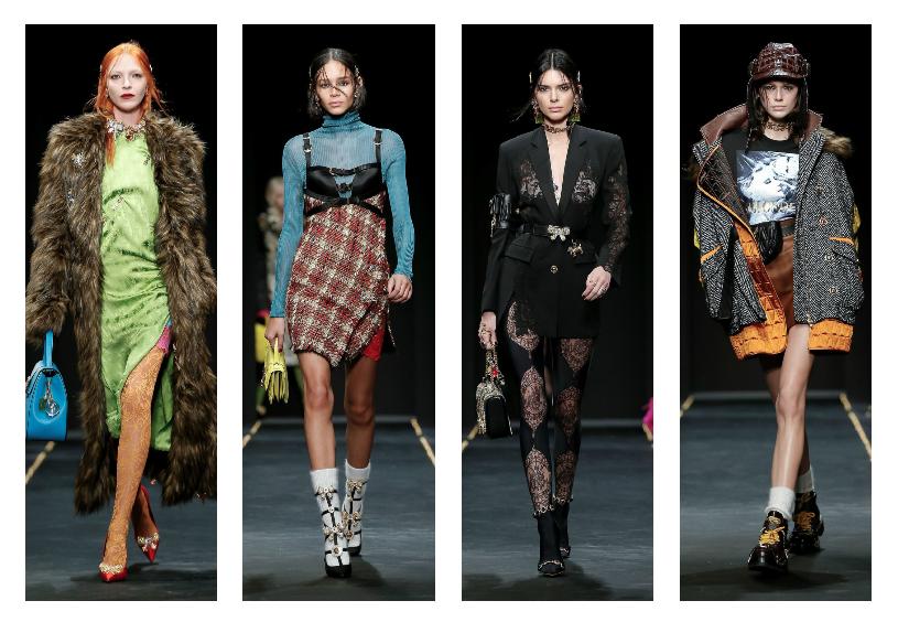 مجموعة دار فيرساتشي لخريف وشتاء 2020 في اسبوع الموضة في ميلانو