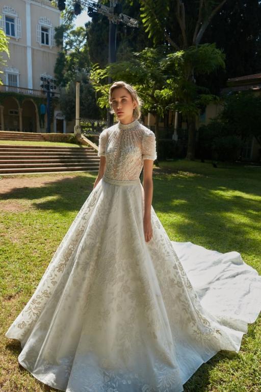 أجمل تصاميم فساتين الزفاف لطوني ورد 2020