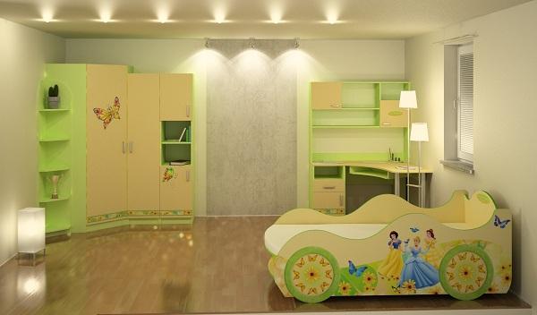 أحدث و أرقى تصميمات غرف نوم الاطفال لعام 2019