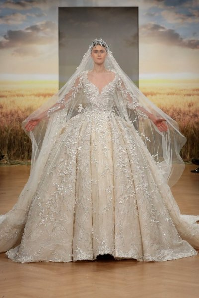 أرق تصميمات فساتين الزفاف لعام 2020