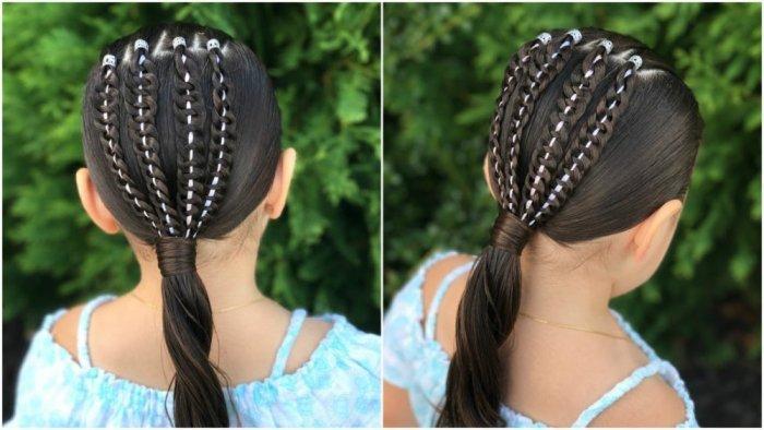 أشكال مميزة لتسريحات تناسب الشعر الكيرلي