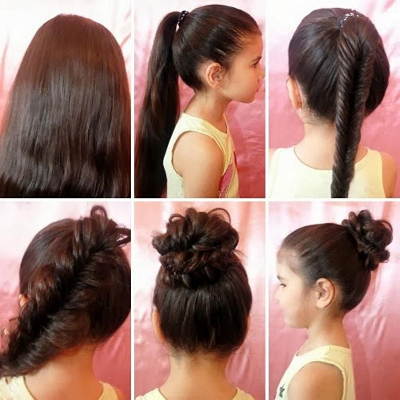 أفكار لتسريحات مختلفة تلائم الشعر الطويل