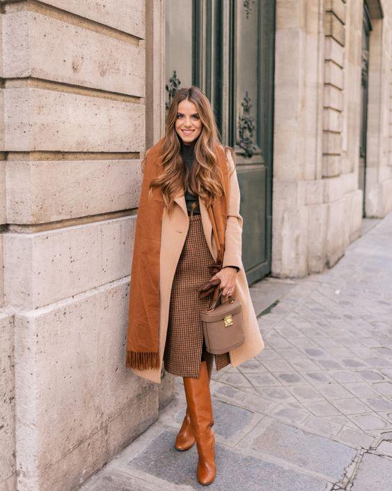 أفكار لتنسيقات ملابس الشتاء