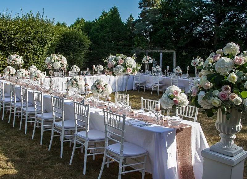أحدث صور ثيمات زواج باللون الأبيض
