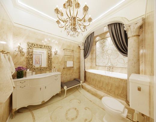 استوحي تصميم حمام منزلك من ديكورات الحمامات الأوروبية