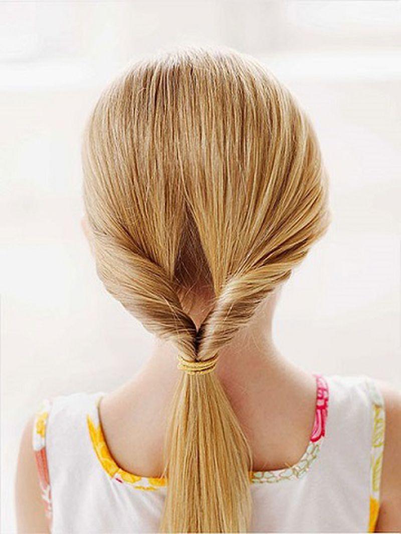 الطابع الأنيق يميز تسريحات شعر البنات