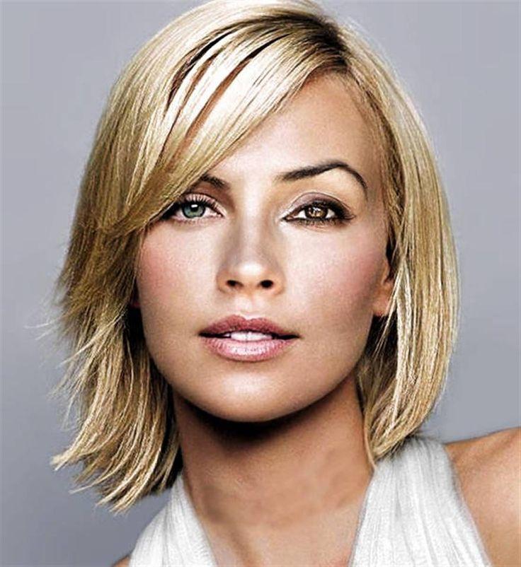 الغرة الجانبية لصاحبات الشعر الخفيف من الأمام