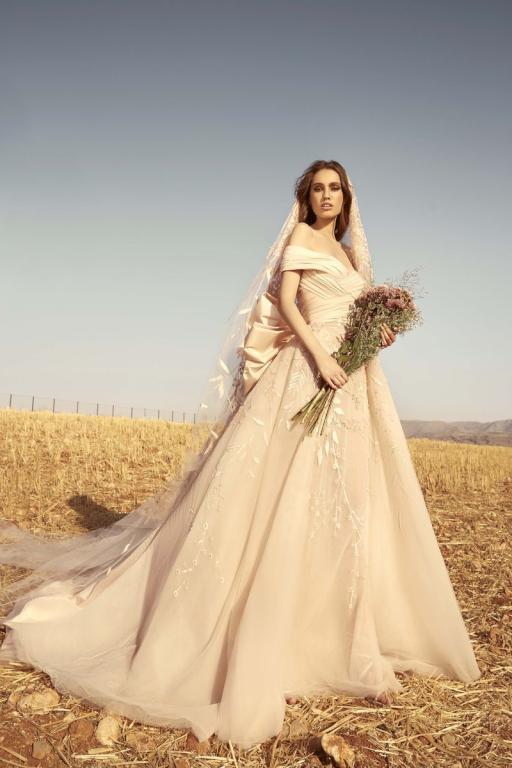 المصمم اللبناني زهير مراد يُصمم مجموعة من أرقى فساتين الزفاف لعروس 2020