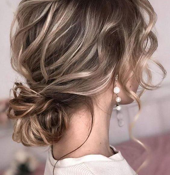 تسريحه شعر عروس 2020