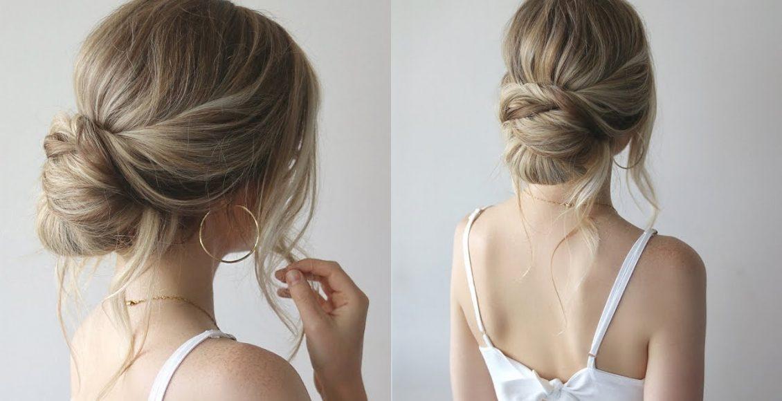 تسريحات شعر عرائس ملائمة لصاحبات الشعر الخفيف