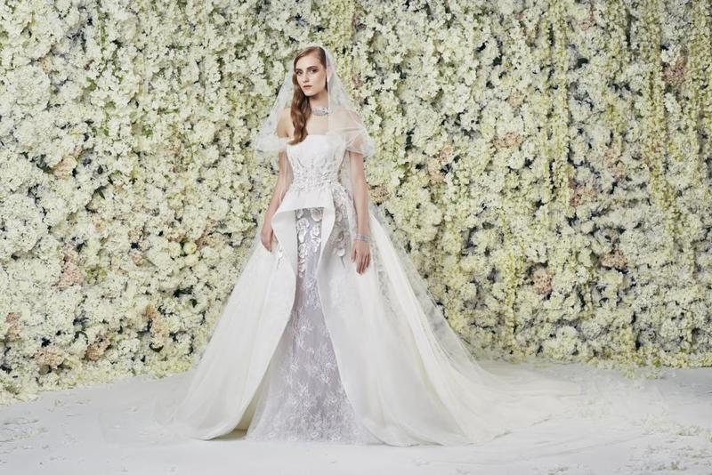 تصاميم مميزة لفساتين الأعراس للعروس الخليجية