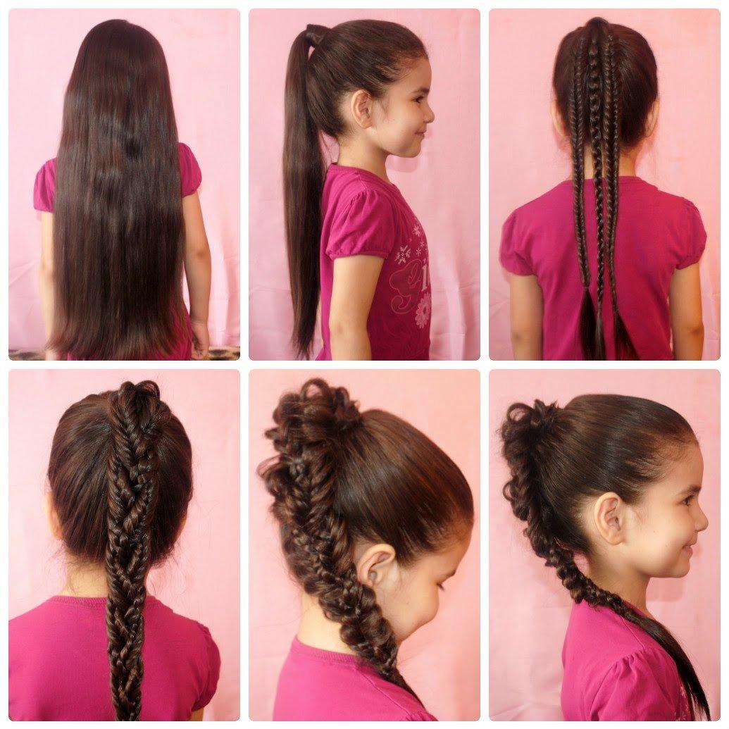 تصفيفات شعر مختلفة للفتاة صاحبة الشعر الطويل