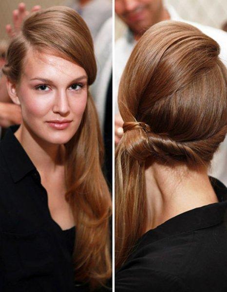 تصفيف الشعر على طريقة البيف لصاحبات الشعر الخفيف