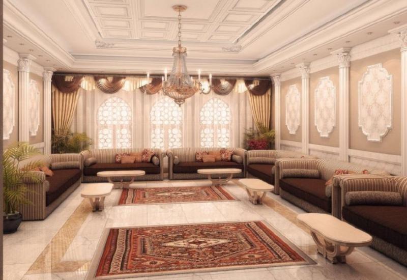 تصميمات مميزة لمجالس نسائية كلاسيكية التصميم