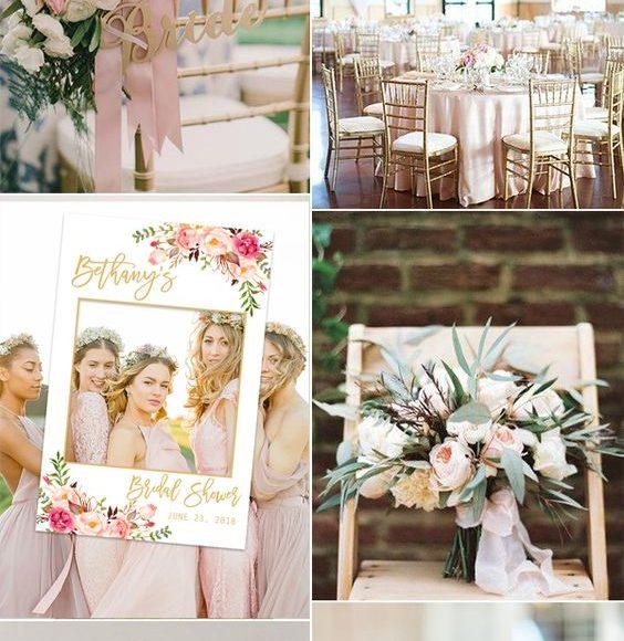 ثيمات زفاف ذهبي