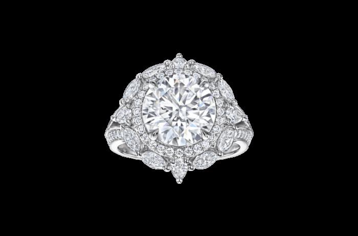 دار هاري وينستون تنتج أجمل أشكال الدبل الماسية لعام 2019