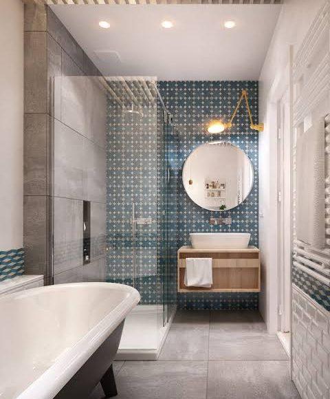 صور تصميمات ديكور اسقف مصنوعة من الجبس بورد للحمامات