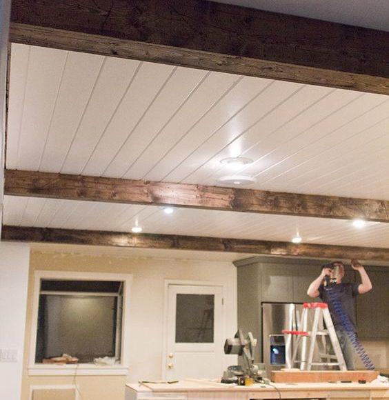 الوان الاسقف الخشبيه
