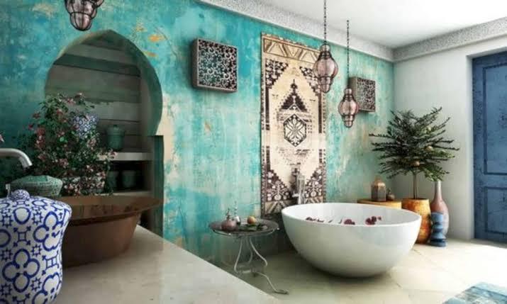 ديكور حمام مغربي