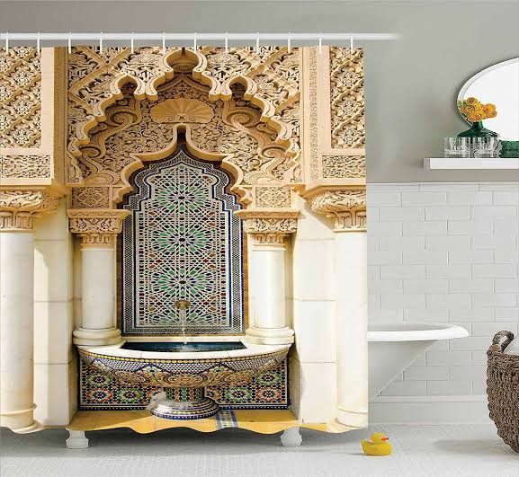 صورة تصميم ديكور حمام مغربي