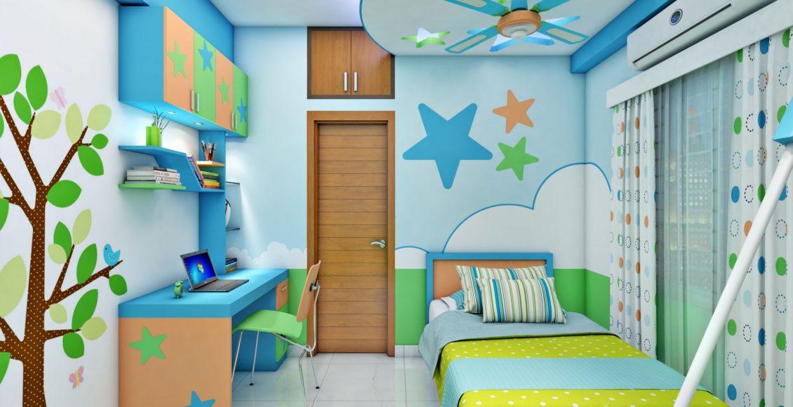 ديكورات غرف نوم أطفال ذات طابع قمة في التميز لعام 2019