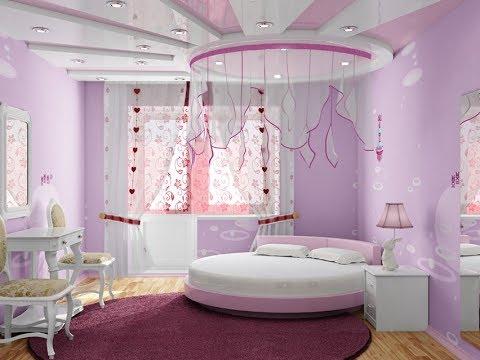 ديكور الجبس يُزين غرف النوم دائرية الشكل