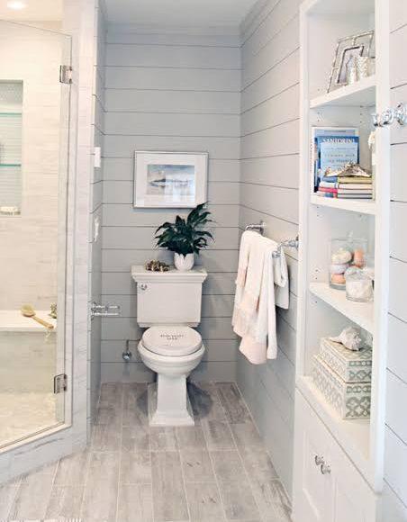 صورة ديكور حمام غرفة نوم ماستر