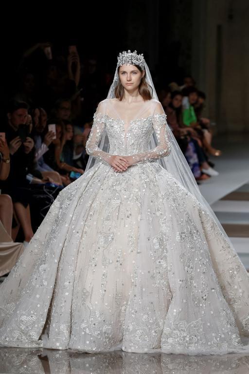زياد نكد يبدع في تصميم فساتين زفاف 2020
