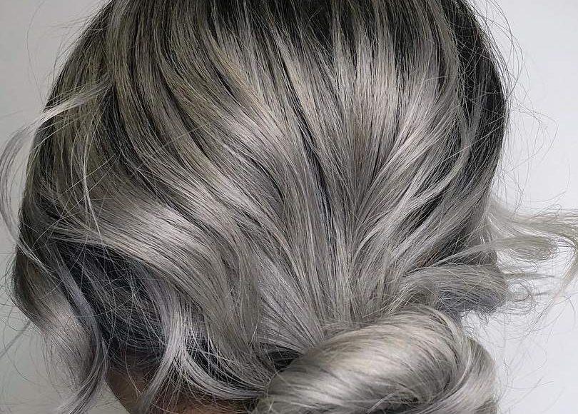 صبغات شعر اشقر رمادي بالصور الراقية