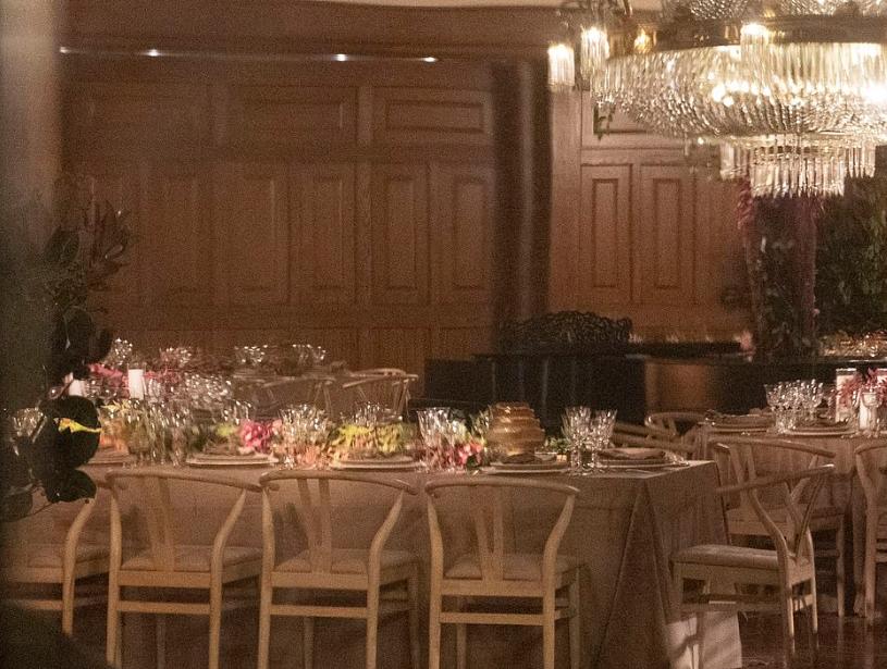 صور تجهيزات حفل زفاف جينيفر لورانس