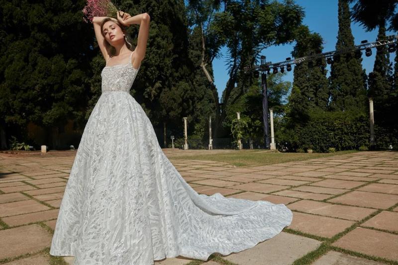 صور لفساتين زفاف المصمم طوني ورد لعام 2020