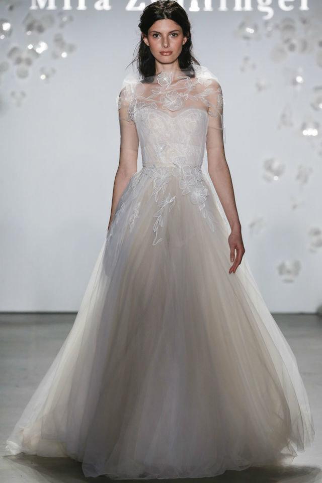 صيحات الموضة في عالم فساتين الزفاف لعام 2020