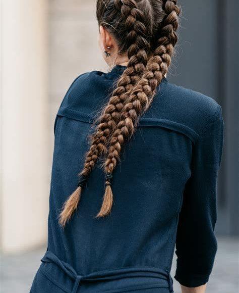 ضفائر شعر فرنسيه