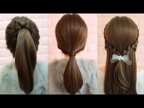 طرق مختلفة لتسريح شعر ابنتك الطويل